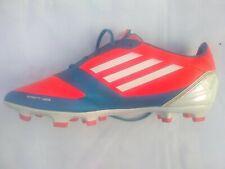 Adidas F50 Sprint Web football boots.  UK 9.  Blue/orange/white