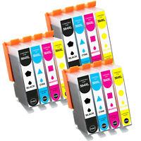 12 Pack GEN 564XL Chip Ink Cartridge For HP 564 XL Officejet 4622 4620 Printer