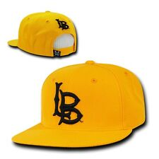 NCAA CSULB Long Beach State 49ers California Freshmen Snapback Caps Hat Gold