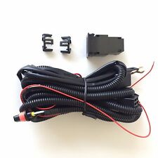 12V 30A Fog Light Wiring Harness Relay Kit ON/OFF Switch 899 880 2 Plugs Wire