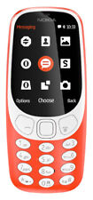 SIM Nokia 3310 Mobile Phone Rear Camera 2mp Unlocked TFT Display Warm Red