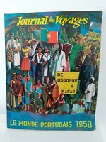 Giornale Delle Viaggi N° 209-210 Dec 1958 Rivista Internazionale Di Turismo