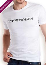 EMPORIO ARMANI Men's T-shirt in White - Size M L XL-Slim Fit/Tight body fit