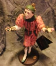 Limited Edition Duncan Royale 11 1/2� Jester/Clown Figurine.numbered