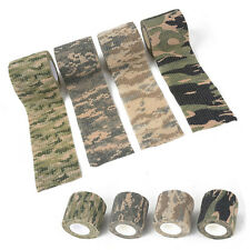 4Pcs 5*4.5M Camo Gun Hunting Waterproof Camping Camouflage Stealth Tape Wrap