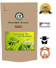 Guava leaf tea - Rapid weight loss,detox Herbal tea,Whole Herb  40 Teabags, 80g