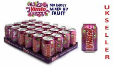 Vimto Sparkling Fruit Juice 330ml Pack of 24 in WHOLESALE Price UK Seller
