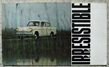 FORD ANGLIA 105E Car Sales Brochure 1963 #A2034/4/63