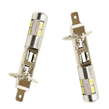 2X H1 Weiß Hohe Energie LED 10 SMD 5630 Standlicht Streiflicht Xenon 12V PAL