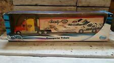 NASCAR 2001 Mattel Hot Wheels Transporter Tribute #11 Darrell Waltrip #29495