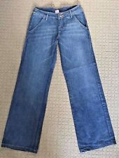 MINK DENIM Size 7 Medium Blue Bootleg Jeans BNWOT