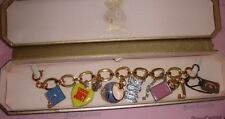 New Juicy Couture Limited Edition 2011 Graduation Charm Bracelet
