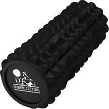 Foam Roller muscle Massage Deep Tissue Trigger Bump Carry Bag Yoga Gym Weights
