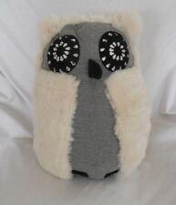 Pottery Barn Teen Jeweled Rockin Plush Animal Faux Fur Speaker White Owl NWOT