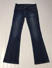 AMERICAN EAGLE OUTFITTERS Women��s Sz 0 Reg AE ARTIST Flare Denim Blue Jeans