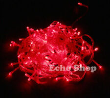 Luci di Natale esterno rosso