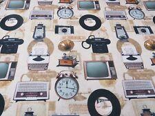 TV digitale macchina da scrivere orologi tessuto tende tappezzeria TESSUTI DA CUCIRE