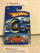 Tooned Chevy S-10 #120 * Orange * 2005 Hot Wheels * ND11