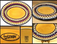 """17"""" Oval Serving Platter """"Argentina"""" byTabletops Galary; Hand Crafted & Painted"""