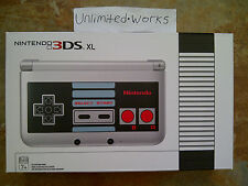 Nintendo 3DS XL Console Retro NES Edition Silver Handheld System Brand New
