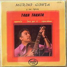 Scarce Merino Costa y Sus Tipicos Taka Takata - 1972 French MFP - NM Vinyl