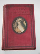HARDY NORSEMAN by Edna Lyall RARE RED CLOTH COVER W.B. Conkey Publisher