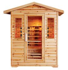 4-Person Outdoor Infrared Sauna