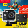 Ultra 1080P Waterproof Sport Action Video Camera Underwater Camcorder 4K HD Gift