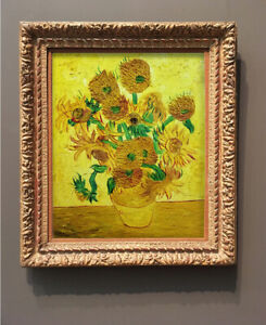 Vincent Van Gogh painting - SUNFLOWERS