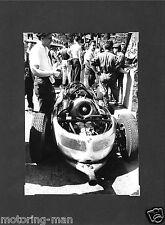 Porsche Tipo 787 un escalafón Fotografía Foto Monaco Grand Prix 1961 Jo Bonnier