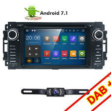 Android 7.1 Car Stereo Radio DVD Player GPS Navigation For Jeep Patriot Liberty
