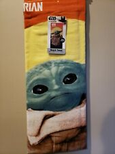 Star Wars: The Mandalorian Baby Yoda Beach Towel 28x58 NEW