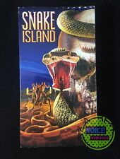 Snake Island (2002) VHS - Horror Survival RARE - William Katt- Wayne Crawford