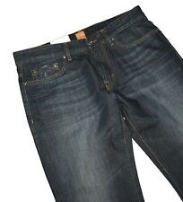 HUGO BOSS 50246384 azul oscuro denim BO3 Vaqueros Ajuste Regular W33/L36