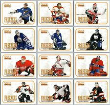 1996-97 UD SELECT CERTIFIED FREEZERS INSERT CARDS - PICK SINGLES - FINISH SET