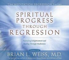 Spiritual Progress Through Regression by Brian L. Weiss (2008, CD, Unabridged)