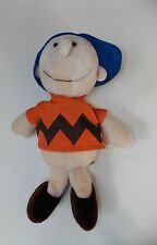 Vintage Charlie Brown Stuffed Plush Doll Toy 1966 United Feature Syndicate Rare