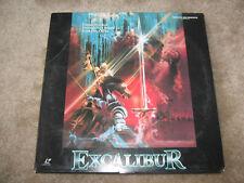 John Boorman's Excalibur on laserdisc!  Great movie!
