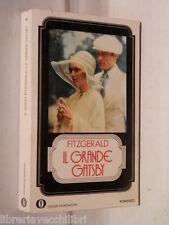 IL GRANDE GATSBY Francis Scott Fitzgerald Mondadori Oscar 35 1974 libro romanzo