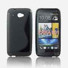 FUNDA GEL TPU NEGRA para HTC DESIRE 601 en ESPAÑA CARCASA