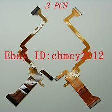 2PCS LCD Flex Cable for JVC GZ-HD10AC GZ-HD30 GZ-HD40 AC U Repair part