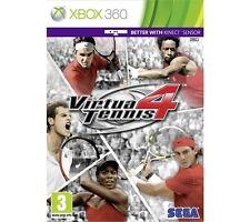 Virtua Tennis 4 (Microsoft Xbox 360, 2011)VGC