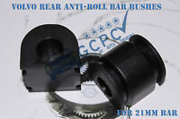 VOLVO REAR ANTI ROLL BAR BUSHES X2 for S80, XC70 , S60 etc. 21MM