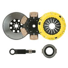 CLUTCHXPERTS STAGE 4 SPRUNG CLUTCH+FLYWHEEL 88-91 HONDA CIVIC EF9 B16A CABLE