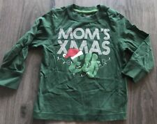 3T Old Navy Mon'd Xmas Christmas Elf Green Ling Sleeved Shirt