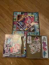 Game Monopoly Junior Edition My Little Pony Parker Game Board