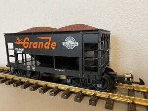 PIKO 38912 :: Denver & Rio Grande Western Ore Car w/ Removable Ore Load G-Scale