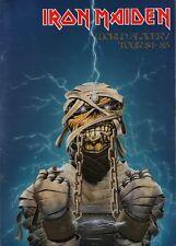 IRON MAIDEN 1984/1985 WORLD SLAVERY TOUR CONCERT PROGRAM BOOK / EDDIE / NM 2 MNT
