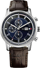 Tommy Hilfiger Cool Sport Leather Chronograph Mens Watch 1791244