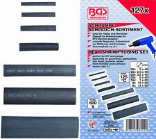 127 tlg. Schrumpfschlauch Sortiment Set Kabelschutz 600V 125°C  Ø 2-13mm B8042